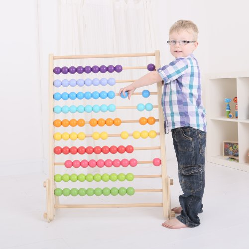 Bigjigs Toys Giant Wooden Abacus - Educational Resources