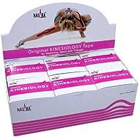 NASARA Kinesiologie Tape kinesiologische Tapes * pink * 5m x 50mm * Spenderbox (6er VE Umkarton) preisvergleich bei billige-tabletten.eu