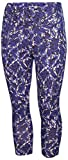 Nike Damen Dri-Fit Athletic Capris blau Camo, Damen, Women's Dri-fit Athletic Capris Blue Camo, blau Camouflage