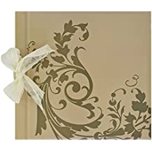 Edima 700005 - Libro de firmas de boda con lazo