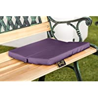 Shopisfy Folding 2 Part Outdoor Water Resistant Sit Mat Seat Pad - Purple