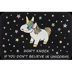Close Up Felpudo Unicorn - Don't Knock