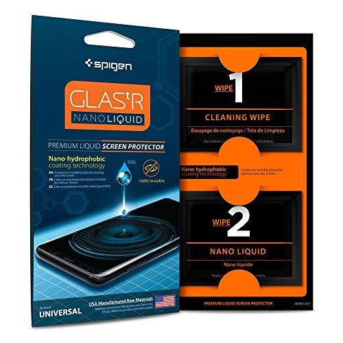 Spigen Glas.TR Protection d'écranNano Liquide Universelle Transparent