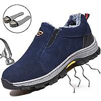 SUADEEX Sicherheitsschuhe Herren Damen Arbeitsschuhe Stahlkappe Sportlich Wanderhalbschuhe Atmungsaktiv Schutzschuhe Hiking Schuhe Traillaufschuhe