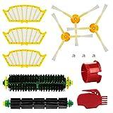 energup Kit de repuestos para IRobot Roomba Serie 500 505 520 510 530 531 535 545 550 552 575 580 581 585 595 Accesorios de aspiradora