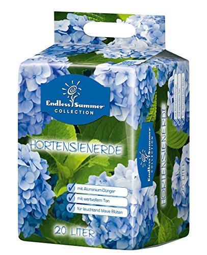 Floragard Endless Summer Hortensienerde blau 20 L • zum Pflanzen und Umtopfen • für Beet- und Kübelbepflanzung • für blaue Hortensien • mit Tongranulat