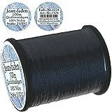 1 Stück Spule a. 100 m Qualitäts - Nähgarn Jeansfaden Farb-Nr.1028 blau, Ne 25.3/2, 100% Nylon für die Nähmaschine Garn Garne, 1704