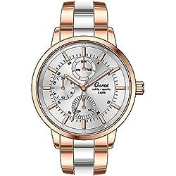 Garde Uhren aus Ruhla Damenuhr Multifunktion Elegance 22842