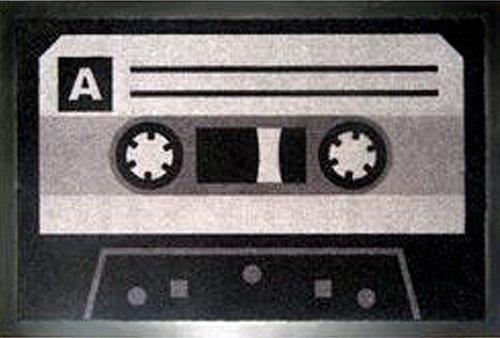 Felpudos Música diseño casete (Tape)