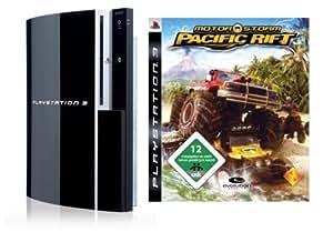 Playstation 3 - Konsole 80 GB inkl. Dual Shock 3 Wireless Controller + Motorstorm Pacific Rift