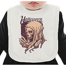 Halloween skull Bavoir Organique