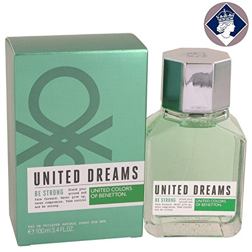 United Colors of Benetton Dreams Be Strong Perfume for Men, 100ml