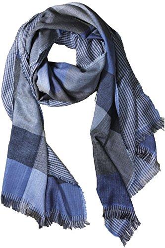 fereti-echarpe-de-soie-pour-homme-bleu-et-beige-tres-douce-e-chaude-tissu-double-4-en-1