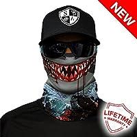 Sa Empresa Unisex tiburón diseño de Cara Caps, Talla única