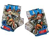 Unbekannt Fahrradhandschuhe - Disney Mickey Mouse - abgepolstert - 5 bis 10 Jahre - universal auch für Roller Dreirad Laufrad / Kinderfahrrad Kinder - Mädchen Jungen Pl..