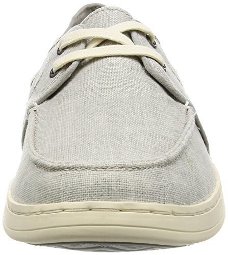 Culver Caslp Schuh dr grey coated linen dr-grey-co