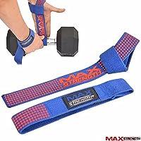 MAXSTRENGTH Gewichtheber Gym Training Bar Gurte gepolstert Wrap Hand Bar Gepolsterte Handgelenk Unterstützung preisvergleich bei billige-tabletten.eu