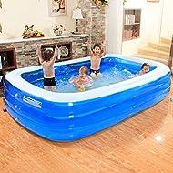 Outdoor-Familie aufblasbare Pool Pool Kinder aufblasbare Badewanne ( größe : 305*185*65cm )