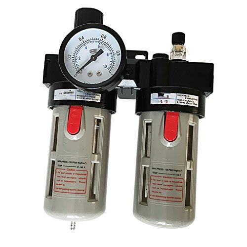 MagiDeal BFC3000 Compressore Regolatore Filtro Aria Olio Lubrificante Trappola Acqua Umidità