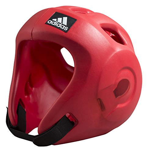 Adidas Casco Protector Adizero Moulded Headguard, Rojo, S, ADIBHG028