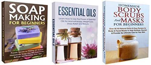 Box Set Homemade Body Scrubs And Masks For Beginners Soap Making For Beginners Essential Oils Homemade
