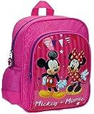 Disney 26921A1 Mickey & Minnie Party Mochila Infantil, 6.44 Litros, Color Rosa