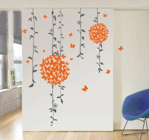 Decals Design 'Butterflies' Wall Sticker (PVC Vinyl, 50 cm x 70 cm)