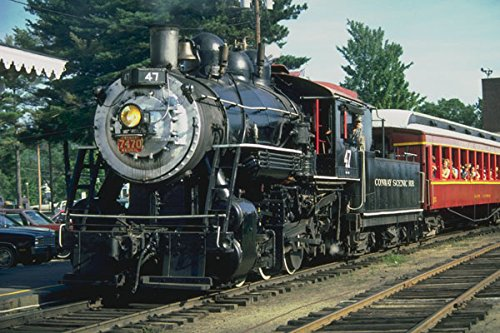 499086 Canadian Pacific Steam Locomotive A4 Photo Poster Print 10x8