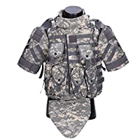 Xiao Yu Special Warfare Vest - Tactical Vest Field Camouflage Outdoor Mountaineering Expanding Sports Combat Vest (Color : A)