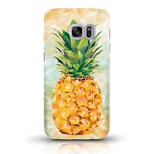 """JUNIWORDS Handyhüllen Slim Case für Samsung Galaxy S7 - Motiv wählbar - """"Anker Design 1 Dunkelblau"""" - Handyhülle, Handycase, Handyschale, Schutzhülle für Ihr Smartphone Ananas Design 2"""