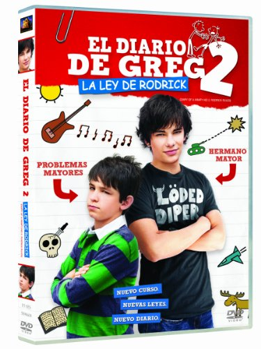 The Diary Of Greg 2: The Rules Of Rodrick Dvd