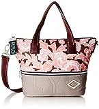 Oilily Damen Charm Handbag Mhz Henkeltasche, Pink (Rose), 13x26x38 cm