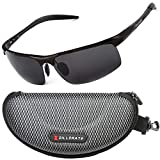 ZILLERATE Mens Womens Fashion Sunglasses - Polarised Lenses UV Protection Unbreakable Lightweight Frame