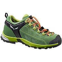 Salewa JR ALP PLAYER WP - zapatillas de trekking y senderismo de piel Niños^Niñas