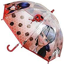 Paraguas Transparente con Lunares de Ladybug 71 cm