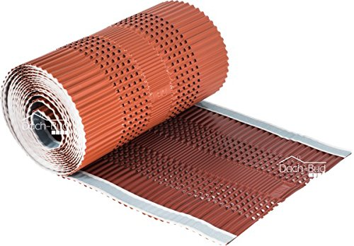 Closoir de faîtage ventilé en aluminium 300mm x 5Ml