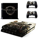 'Ps4 / Xbox One Skin Sticker The Elder Scrolls Online Skyrim Vinyl Decal For Console & 2 Controllers (ps4 Original)