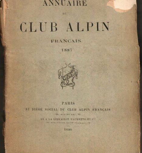 Annuaire du club alpin français - quatorzième année 1887