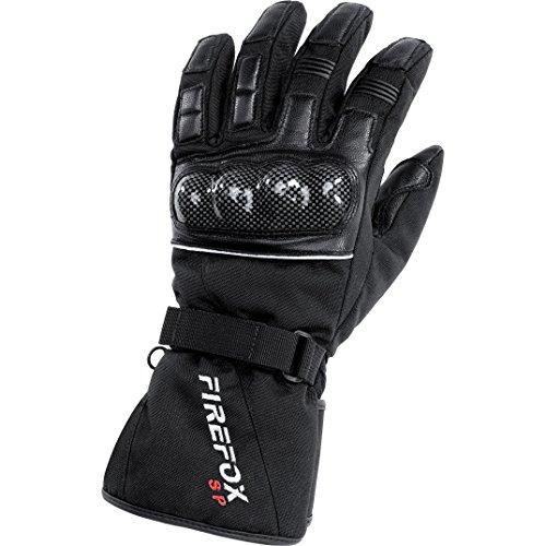 FIREFOX Motorradschutzhandschuhe, Motorradhandschuhe lang Sport Handschuh wasserdicht 1.0 schwarz 9,5, Unisex, Tourer, Ganzjährig, Textil
