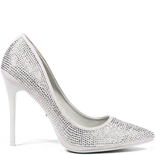 Ideal Shoes ,  Scarpe col tacco donna Grigio