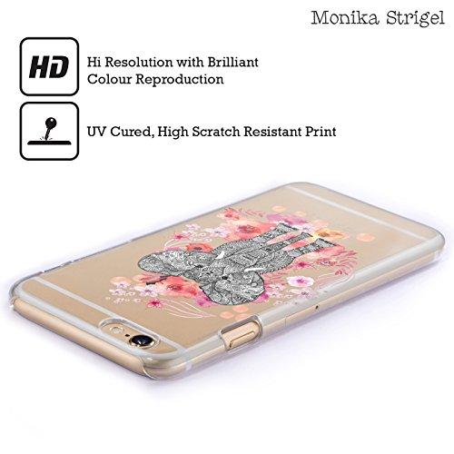 Offizielle Monika Strigel Fuchs Tiere Und Blumen 2 Ruckseite Hülle für Apple iPhone 5 / 5s / SE Aztekische Elefant