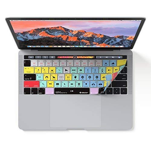 "Adobe Premiere Pro CC Tastatur Abdeckung Hülle für Apple MacBook Pro Touch Bar 13 "" and 15 """