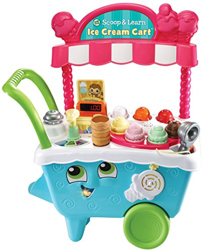 Learning is sweet when pretending to run your own ice cream cart! Create imaginative and tasty-looking ice cream combinations using delicious ice cream flavours and toppings. Meet a cast of six hungry characters by inserting activity cards to explore...