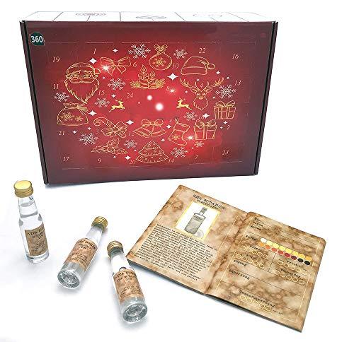 Gin Adventskalender Premium - 24 Gin´s aus 14 Ländern. Der spannende Querschnitt durch die Gin-Landschaft.