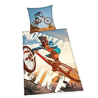 Bettwäsche Herding glatt Mountainbike Fahrrad BMX 135 x 200 cm Wow - All-In-One-Outlet-24 -