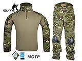 eLITe Airsoft Jagd Tactical BDU passt Military Combat G2Uniform Shirt Hose Multicam Tropic