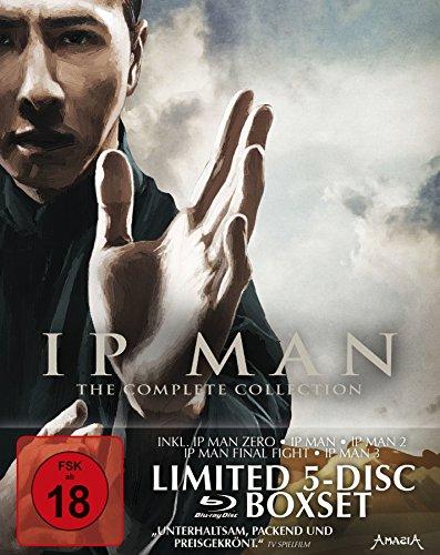Bild von IP Man - The Complete Collection - Digipak im Hardcoverschuber [Blu-ray] [Limited Edition]