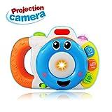 Spielzeug Geschenk für 6-12 Monate Baby Jungen, Kamera Spielzeug für 2-5 Jahre alte Mädchen Kid Bildung Spielzeug für 12-24 Kinder Geburtstag Geschenk Alter 2 3