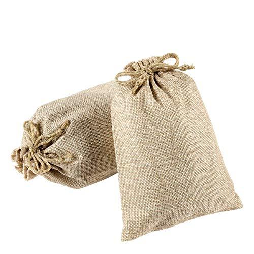 Lvcky Jutebeutel, Jutebeutel, Geschenktüte für Schmuck, Säcke, Kaffeebohnen, Süßigkeiten,...