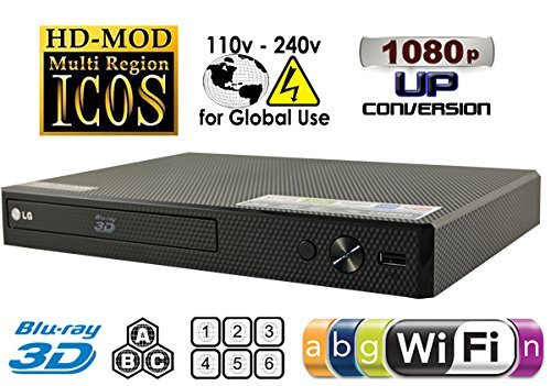 SONY BDP-S3700 High Res Audio - Built-in WiFi - Multi System Region Free Blu Ray Disc DVD Player  available at amazon for Rs.27900